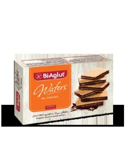 BIAGLUT-WAFERS CACAO 175GR