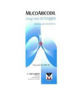 MUCOARICODIL*SCIR FL 200ML0,3%