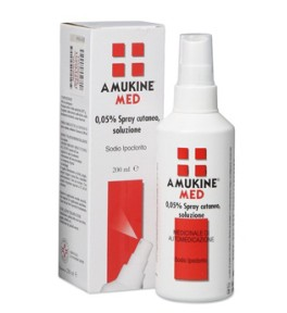 Amukine Med*spr Cut 200ml0,05%