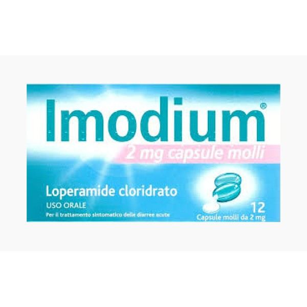 IMODIUM*12CPS MOLLI 2MG