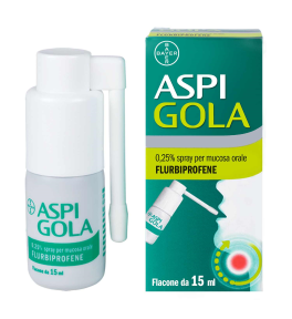 Aspi Gola*os Spray 15ml 0,25%